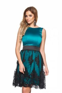 Rochie verde Perfect Looks