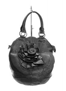 Geanta de dama black Flower