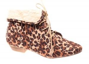 Botine de dama leopard Atomic