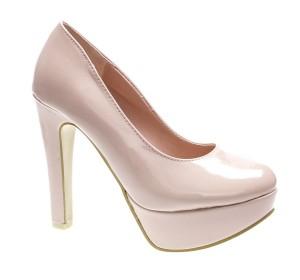 Pantofi de dama beige Manga