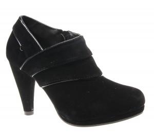 Botine de dama black( lami) Modern Girl