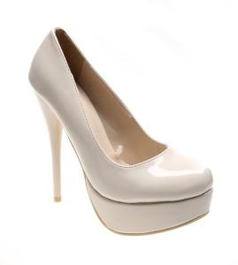 Pantofi de dama beige (pat)  Like a Lady