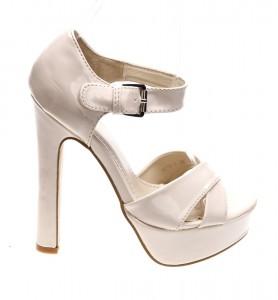 Sandale de dama beige Crazy Town