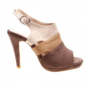 Sandale de dama brown/wheat/beige Kelly