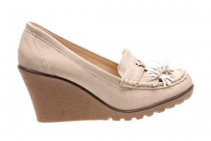 Pantofi de dama beige Christine