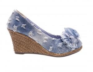 Pantofi de dama grey jeans Summer