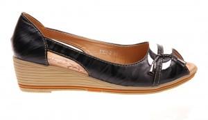 Pantofi casual de dama black Tara