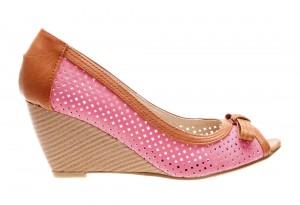 Pantofi de dama fuchsia Sunshine