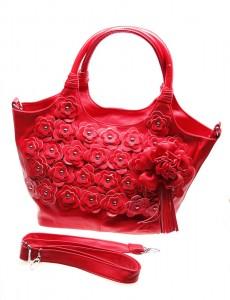 Geanta de dama red Daisy