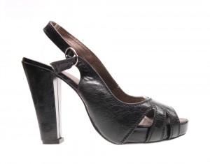 Sandale de dama black Star