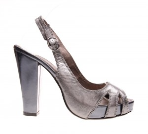 Sandale de dama silver Star