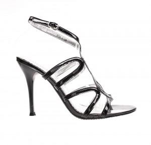 Sandale de dama black Glamour