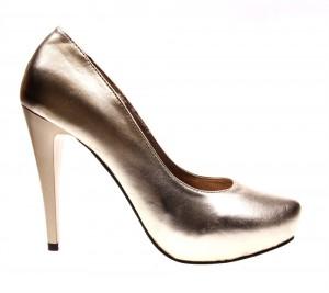 Pantofi de dama gold Joy of life