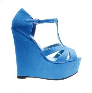 Sandale de dama light blue Burn