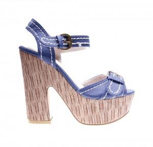 Sandale de dama blue Layla