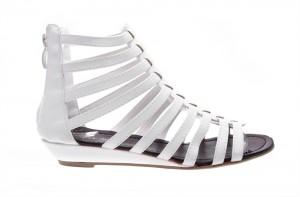 Sandale de dama white Tudor