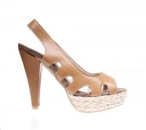 Sandale de dama camel King