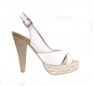 Sandale de dama white Sun
