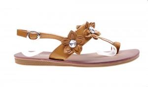Sandale de dama camel Sunny