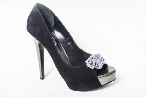 Pantofi black Temper