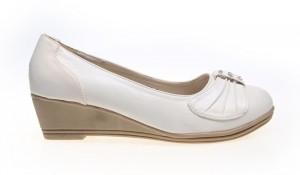 Pantofi dama  albi Seven