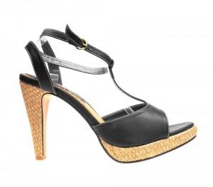 Sandale dama negre Emily