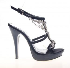 Sandale dama negre Chic