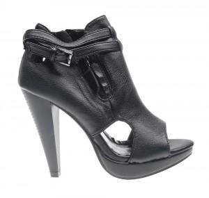 Sandale dama negre Urban