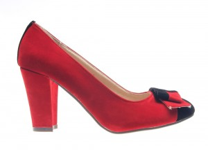 Pantofi dama red Office