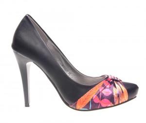 Pantofi dama negri Carol