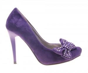 Pantofi dama mov Carol