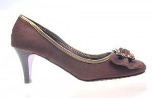 Pantofi dama maro Shine