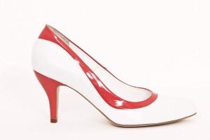 Pantofi de dama white Tanger