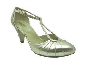 Pantofi Golden Sparkle