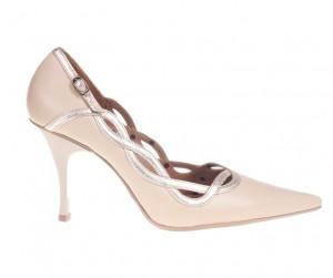 Pantofi dama bej Tabita