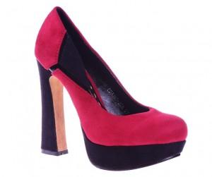 Pantofi rosii Luiza