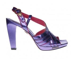 Sandale mov Cris