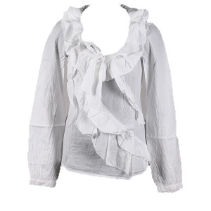 Bluza alba Sisley