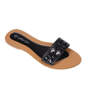 Flip-flops negre Ally