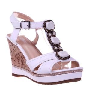 Sandale albe Apolonia