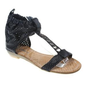 Sandale negre Gratiela