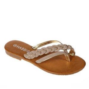 Papuci khaki Tania