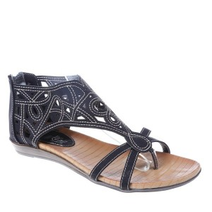 Sandale negre Tara