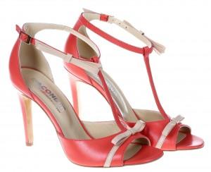 Sandale de dama corai Ana