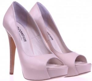Pantofi beige Temper