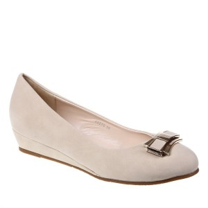 Pantofi  beige talpa ortopedica Edwina