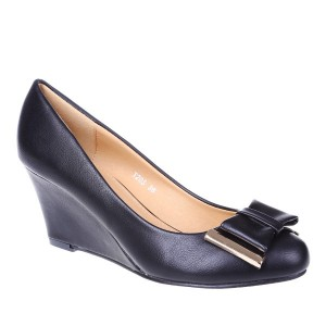 Pantofi talpa ortopedica Mira negri