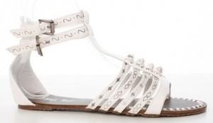 Sandale albe Greece