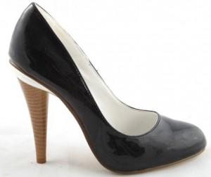 Pantofi negri Camelia