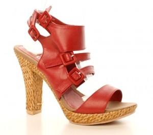 Sandale rosii Gesper